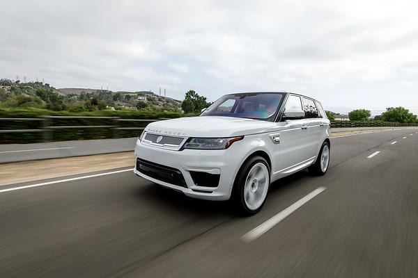 Range Rover white on white