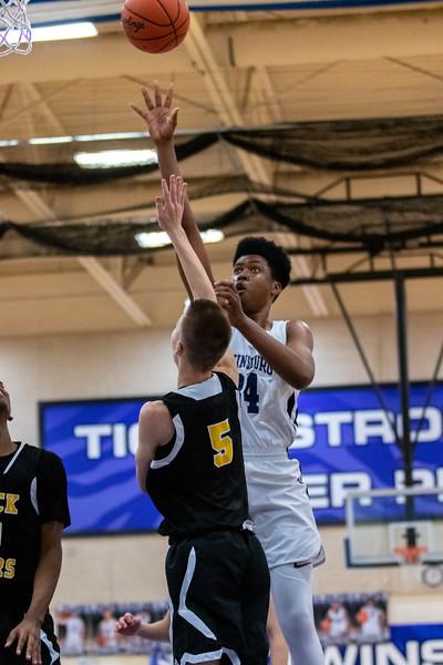 2020-01-24 --Twinsburg Boys Junior Varsity Basketball vs Cuyahoga Falls High School Junior Varsity Basketball
