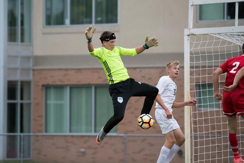 Boys Soccer 2-3 loss to St. Agnes