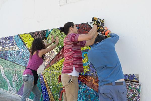 Bryant Mosaic Mural
