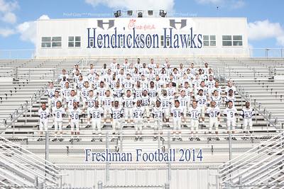 Hendrickson Freshmen Football 2014