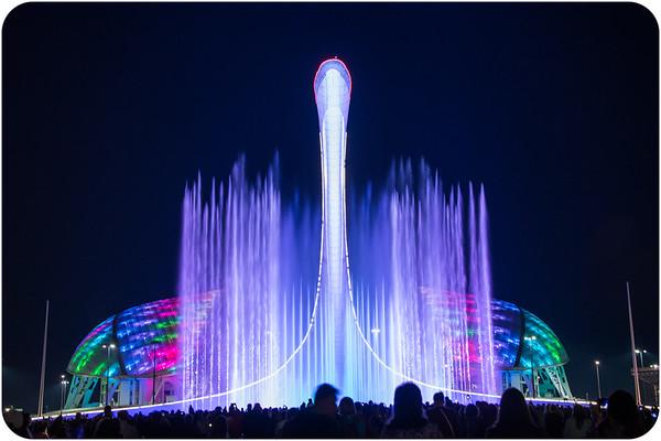 Sochi at Night