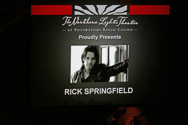 Rick Springfield MKE 5-7-10