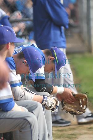 Varsity Baseball @ Centennial  - Loss
