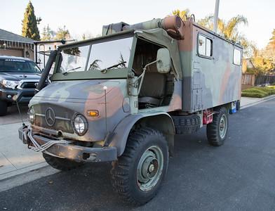 Unimog 404 Radio Truck
