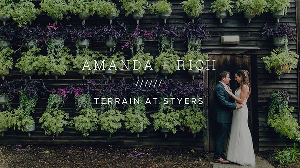 AMANDA + RICH ////// TERRAIN AT STYERS