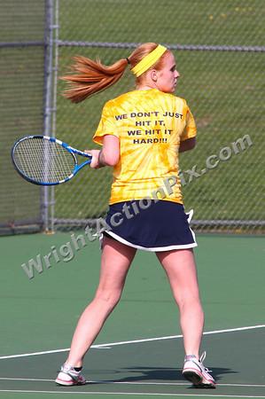 2011 05 05 Clarkston Girls Varsity Tennis vs North Farmington High School