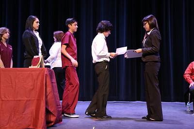 Socorro High School White Coat Ceremony