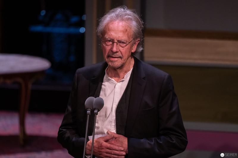 Peter Handle - Nestroy Verleihung 2018