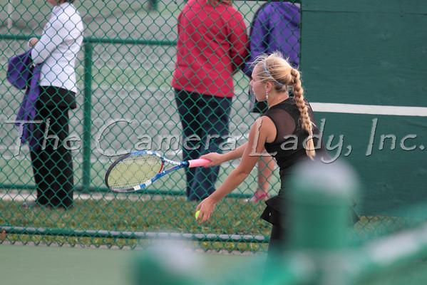 CHCA 2012 Girls Var Tennis - Sectionals 10.04