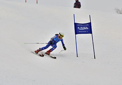Dec 30-31 Mt Ripley J123 (W) GS 1st race 2nd run