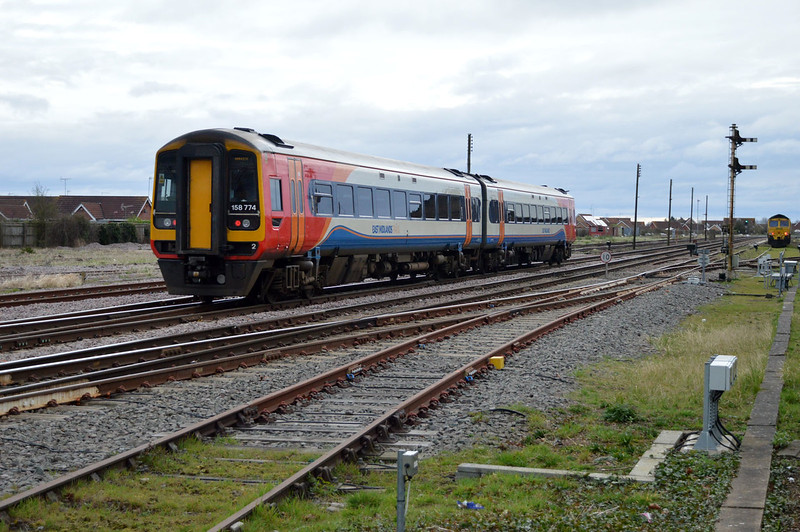 158774 Heads for Norwich.