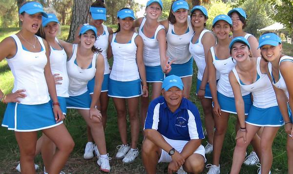 LAHS Varsity Tennis Team 2010