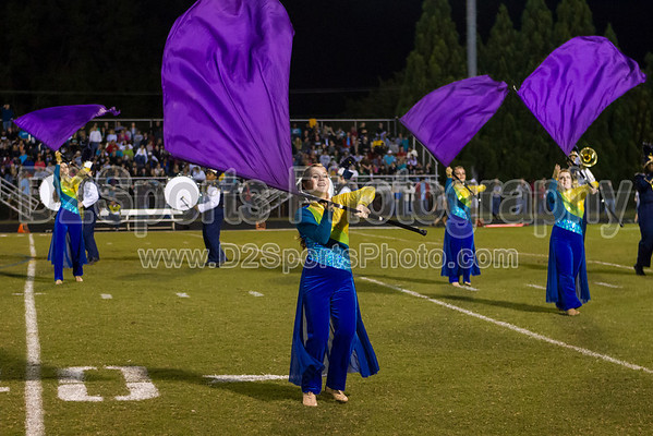 Mt Tabor Marching Band 10/11/2013