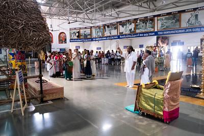 Visit to Yogi Ramsuratkumar Ashram