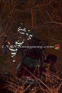 Seaford F.D. Car Down Embankment 1-16-12