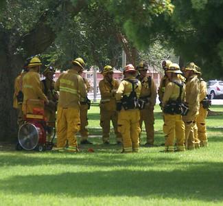 Fire Shelter training.