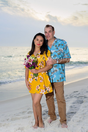 Mr. and Mrs. Koscak  |  Panama City Beach