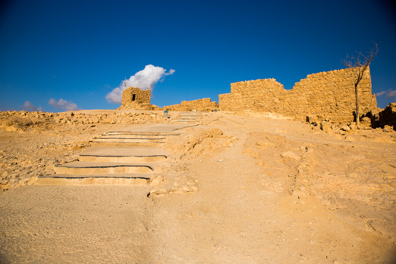 Steps to High Point of Masada