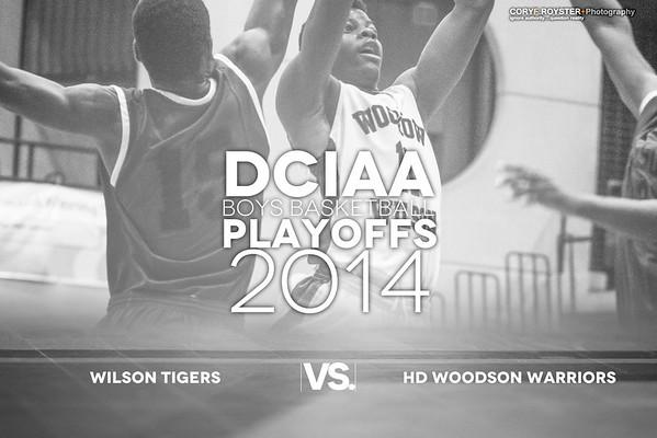 DCIAA Playoffs Boys Wilson v Woodson