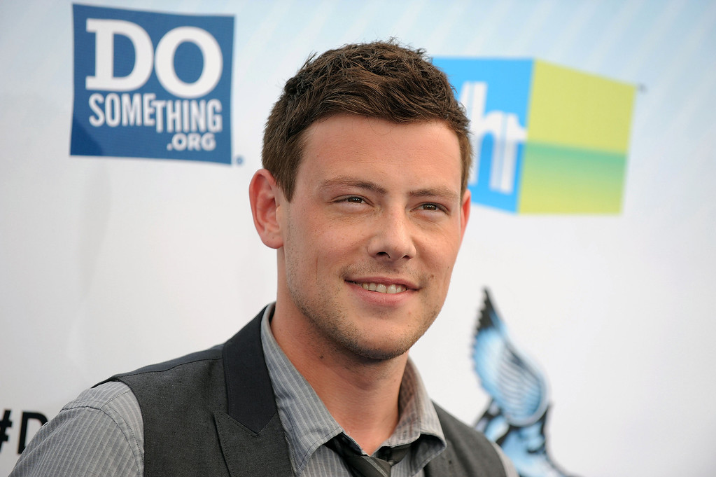 ". This Aug. 19, 2012 file photo shows actor Cory Monteith at the 2012 Do Something awards in Santa Monica, Calif.  Monteith, who shot to fame in the hit TV series ""Glee\"" but was beset by addiction struggles so fierce that he once said he was lucky to be alive, died July 13, 2013 after an overdose of heroin and alcohol. He was 31. (Photo by Jordan Strauss/Invision/AP)"