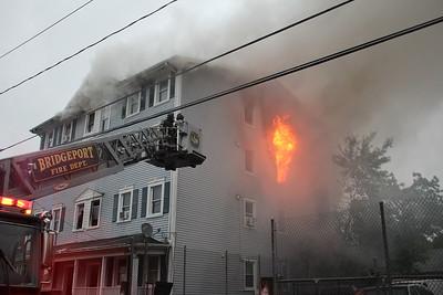 2nd Alarm House Fire - 370 Olive St, Bridgeport, CT  - 5/30/21