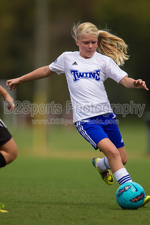 U12 Lady Twins Gold vs YCVSC Eagles 10/6/2012