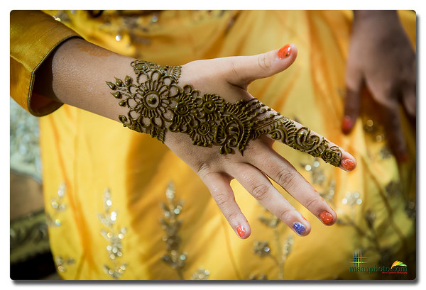 Sansha & Lasya's Mehandi Function 2019