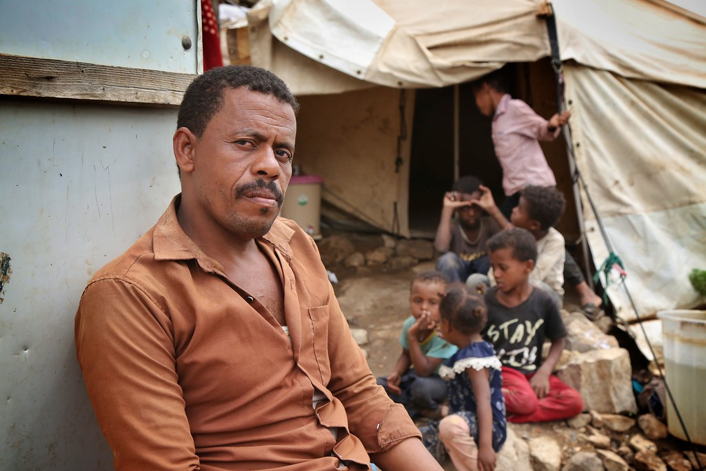 Yemen: Displaced families are in dire need of food as prices rise