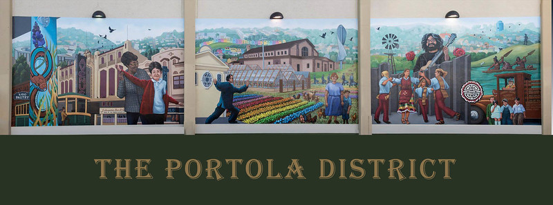 The Portola Then and Now by Art Koch