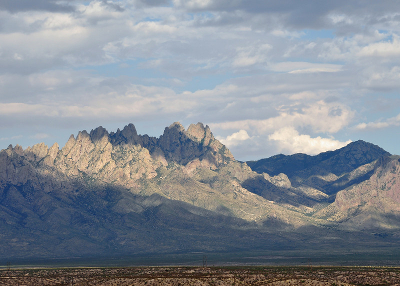 Outside of Los Cruces on the way to Alamogordo.