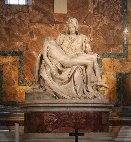 The Vatican in Rome; Michelangelo's La Pieta