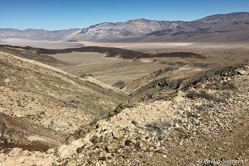 Overlooking the Panamint Valley
