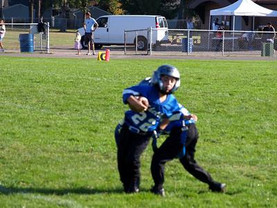 Shelby Lions Football Club - 2008 Flag Football Team