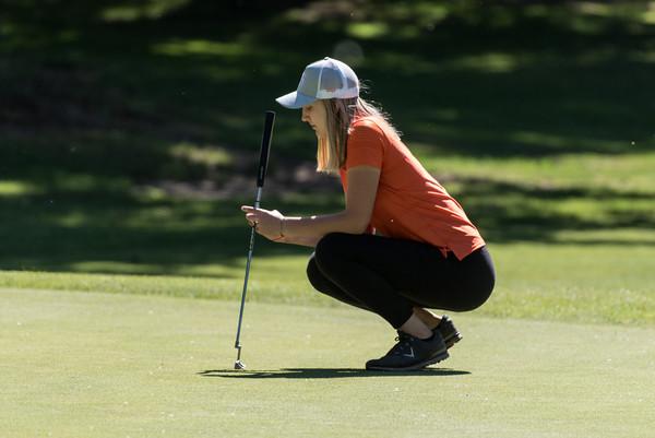2021 Girls Varsity Golf at Charbonneau