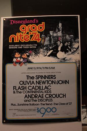 Disneyland  06 12 2014 Anniversary of GN 1974