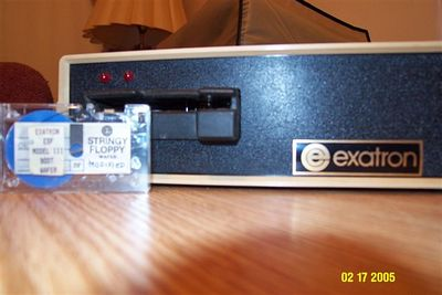 Exatron String Floppy TRS-80 Model 3
