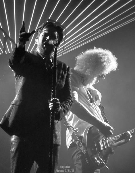 Queen + Adam Lambert - The Crown Jewels - Vegas - Sept 21, 2018