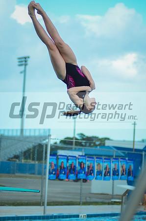 swim and Dive vs THS 10.4.18
