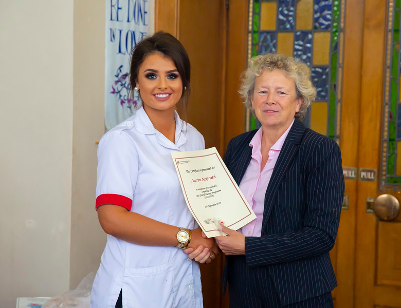 26/09/2019. Nurses Graduation at University Hospital Waterford. Picture: Patrick Browne