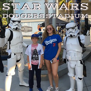 Star Was at Dodgers Stadium