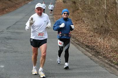Mile 10.25 - Third 50 - GW Marathon 2005
