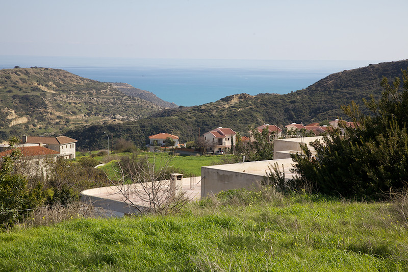 View towards the Bay from the village