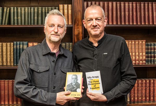 Billy Bragg in conversation with Dave Haslam