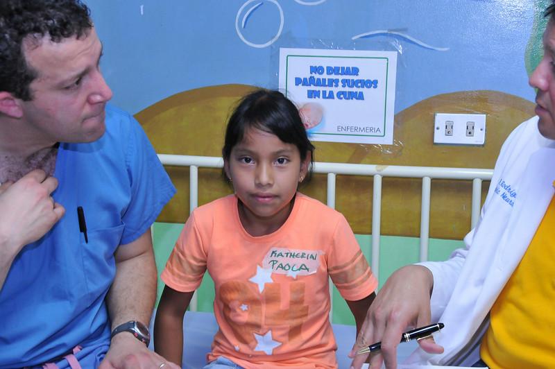 Case 18: Katherin Paola Rodriguez Xicon.  Congenital deformity.  Hit head at school, no follow up