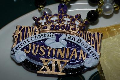 KING MERRITT and QUEEN JAN'S ROYALTY BANQUET, Thursday, January 10, 2008, Shreveport Club