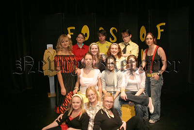 "Performing arts students from Newry Institute who performed ""Noises Off"" at Sean Hollywood Arts Centre, 06W22N66"