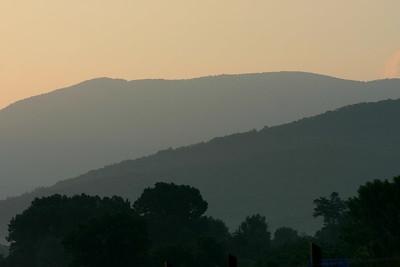 Skyline Drive Luray Sunrise