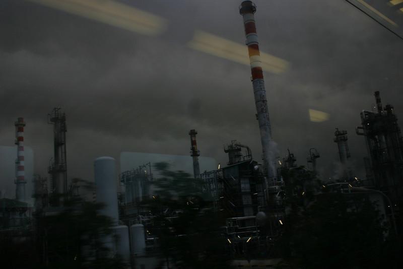 Oil refinery, Falconara, Ancona, Italy