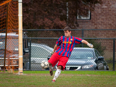 2011-10-28 Hewlett HS Boys Soccer vs VS North HS, 0-2, Playoffs